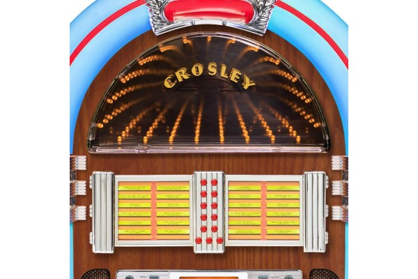 Crosley Full Size Bluetooth Jukebox - Jukebox - Gameroom